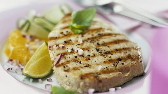 Rezept: Thunfischsteak vom Grill