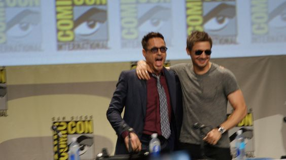 San Diego Comic Con 2014 - Marvel Studios - Robert Downey Jr., Jeremy Renner, Mark Ruffalo  Photos by nevermindthevoid