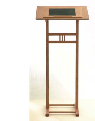 rednerpult stehpult aus holz wohn lich pinterest. Black Bedroom Furniture Sets. Home Design Ideas
