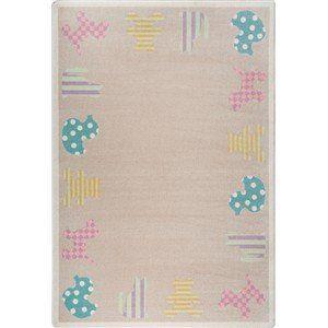 [+]  Joy Carpets Frisky Friends Rectangular: 10 Ft 9 In x 13 Ft 2 In Kid Essentials - Infants & Toddlers Rug