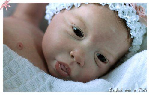 Reborn PROTOTYPE baby girl doll Jaylin, Full Body Soft Vinyl, Jannie de Lange | eBay