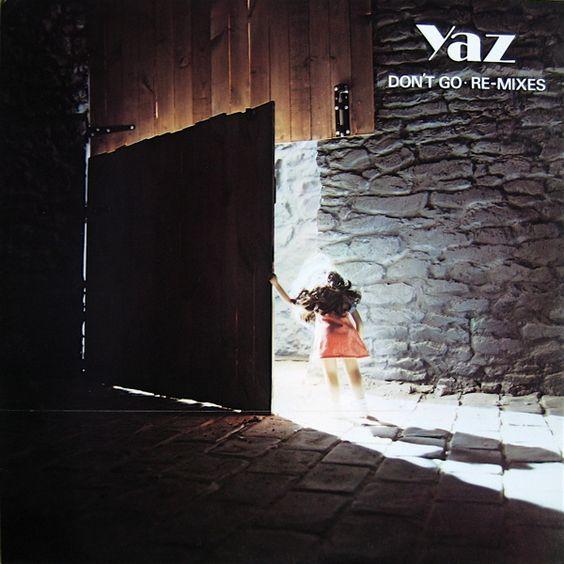 Yazoo – Don't Go (single cover art)