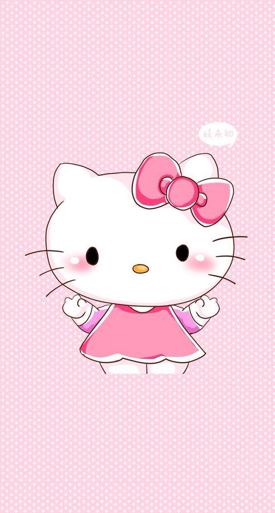 cute pink hello kitty wallpaper - photo #28