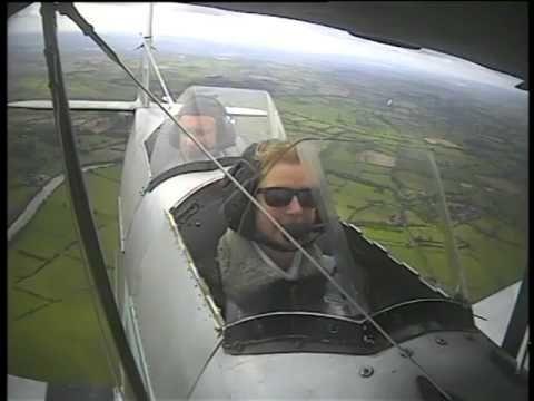2014 Tiger Moth Flight Gloucester flying