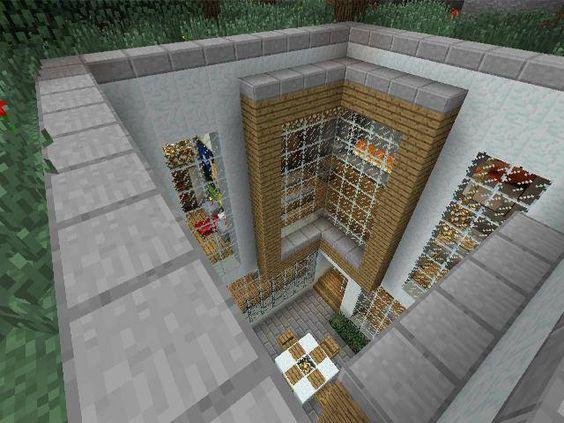 underground house with open courtyard