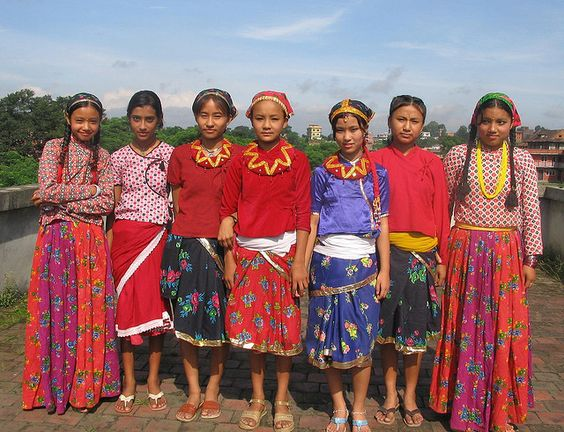Nepali Costume | traditional costumes | Pinterest | Girls, Photos and ...