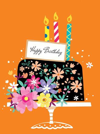 Elegant Cake Jpg Happy Birthday Greetings Happy Birthday Wishes Cards Happy Birthday Cards