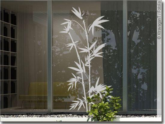 Gras Gräser Glasdekor Glastür Aufkleber Sticker Glastattoo Sandstrahloptik g410