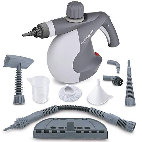Pursteam World S Best Steamers Chemical Free Cleaning Pressurized Cleaner With 9 Piece Accessory Set Purpose And Multi Surface All Natural Anthracite Steam Cleaners Best Steam Cleaner Chemical Free Cleaning