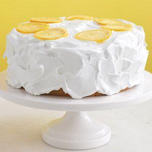Lemon Cake  #recipe #cake: Lemon Cakes, Yellow Cake, Martha Stewart, Birthday Cake, Easter Dessert, Lemon Cake Recipes