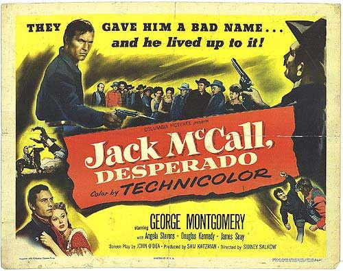 Jack McCall, Desperado (1953) - George Montgomery DVD
