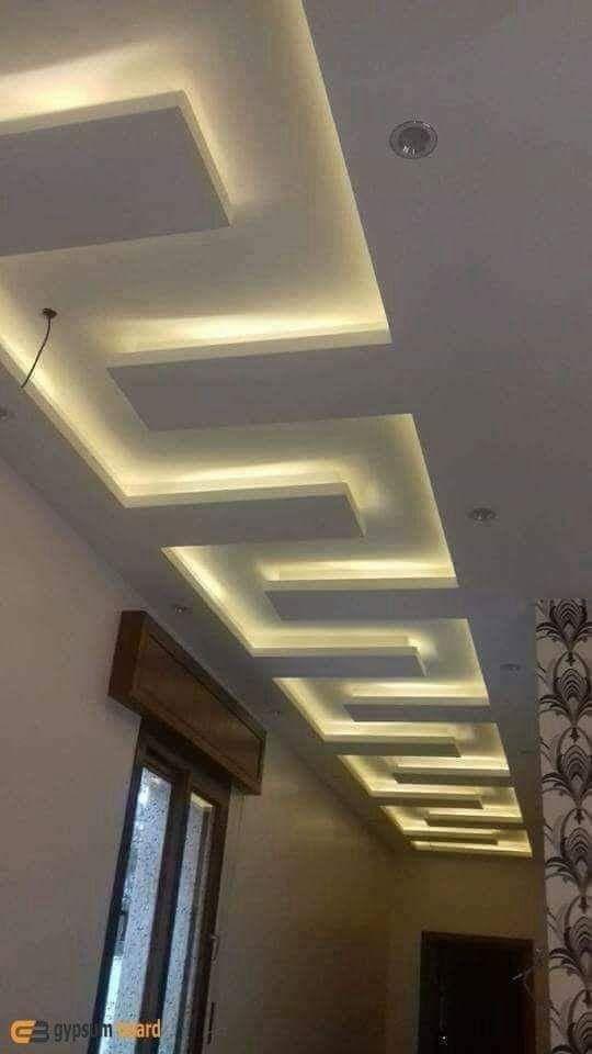 جبس ممرات 2020 أفضل ديكورات جبس فخمه للممرات والمداخل لبيتك الجديد In 2020 Ceiling Design Living Room Ceiling Design Living Design