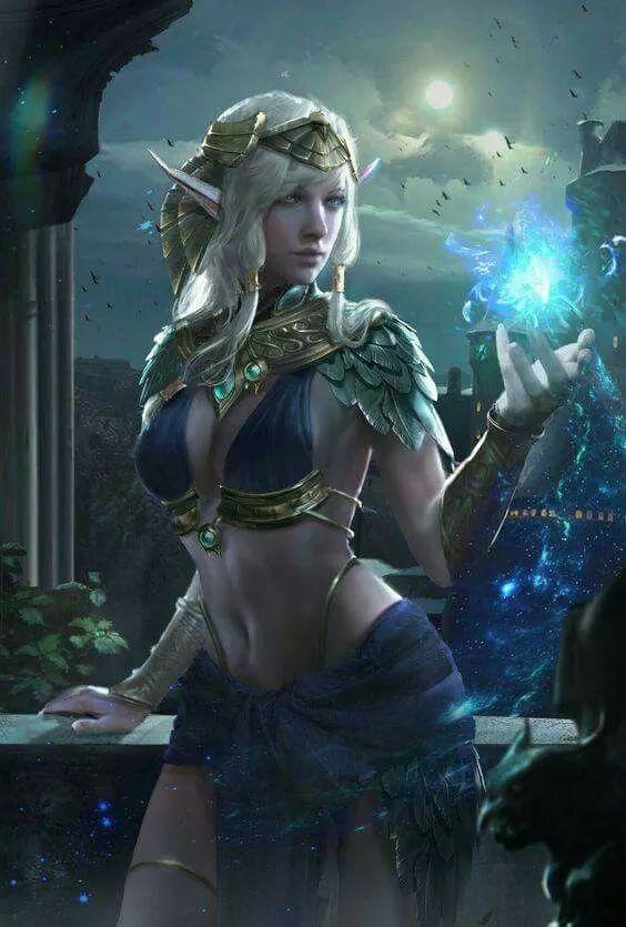 Ancient Priestess Fantasy Women Fantasy Art Women