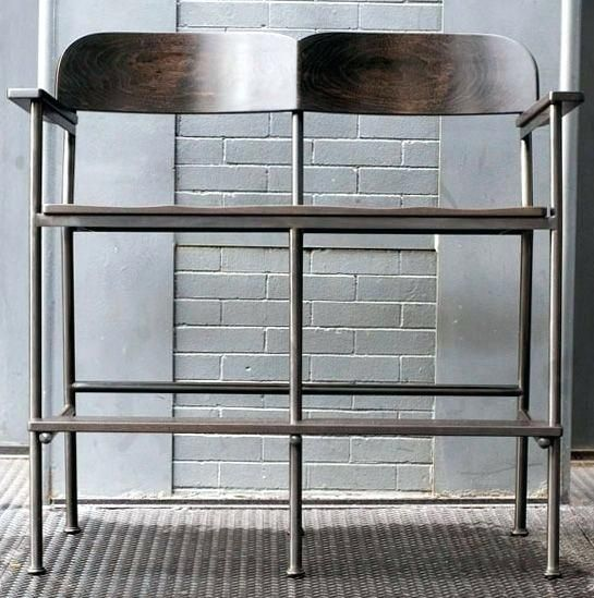 Home And Furniture Eye Catching Double Bar Stool At Shop Lacey
