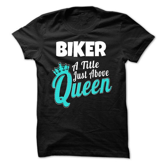 Biker A Title Just Above Queen *Click image to check it out* (affiliate link)
