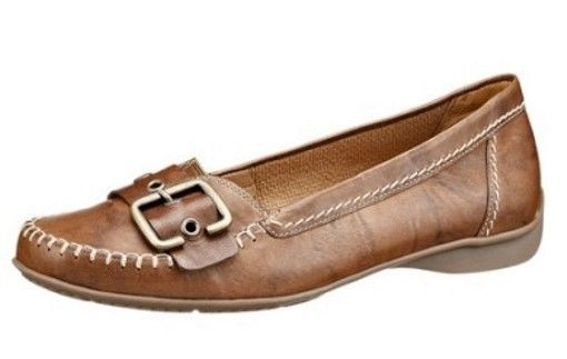 Gabor Schuhe Slipper cognac braun Leder Weite G   eBay