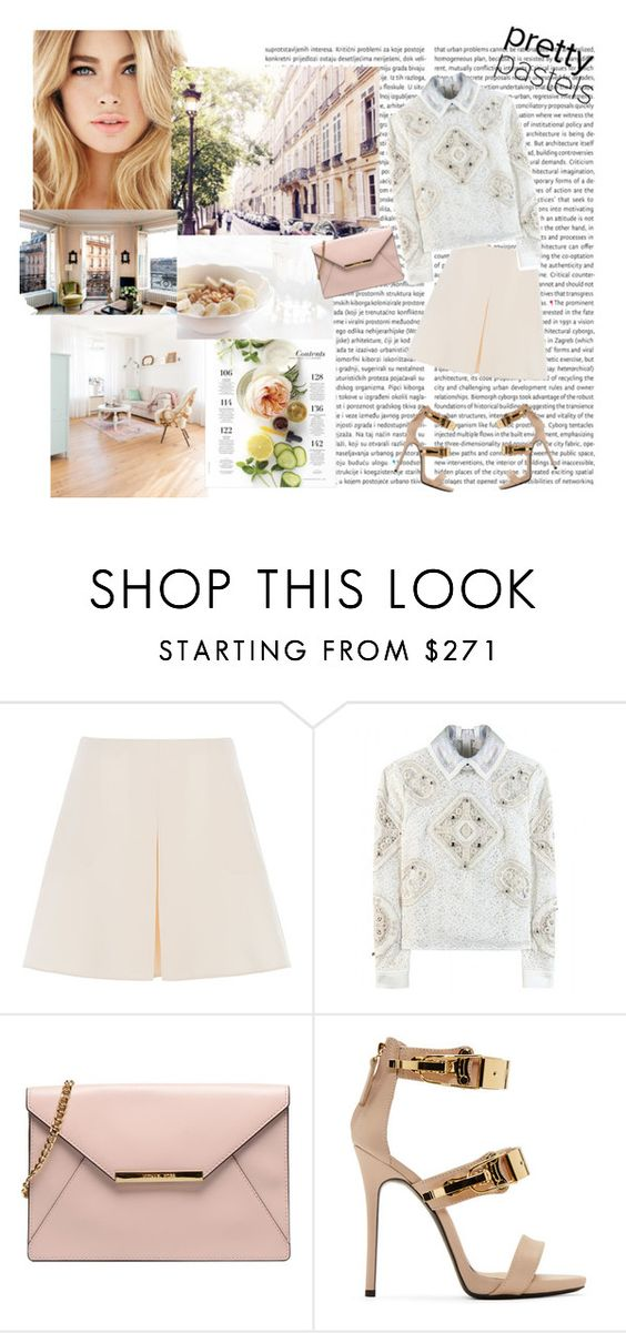 """""""One kiss"""" by lol5295 ❤ liked on Polyvore featuring Martha Stewart, Valentino, Peter Pilotto, Giuseppe Zanotti, women's clothing, women's fashion, women, female, woman and misses"""