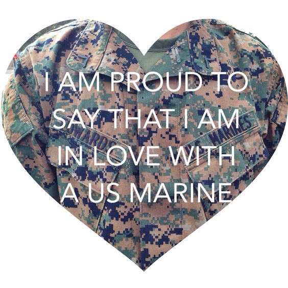 Im soo unbelievably proud to be in love with a Marine. He is my everything and then some! Derek Stiles <3