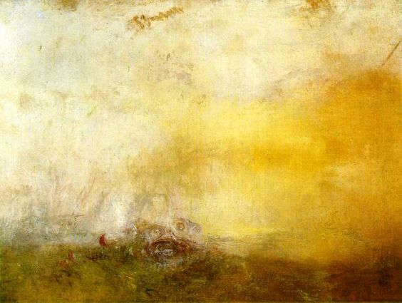 Sunrise with Sea Monsters is an 1845 painting by J.M.W. Turner, currently on display as part of a Turner show at the Art Gallery of Ontario.