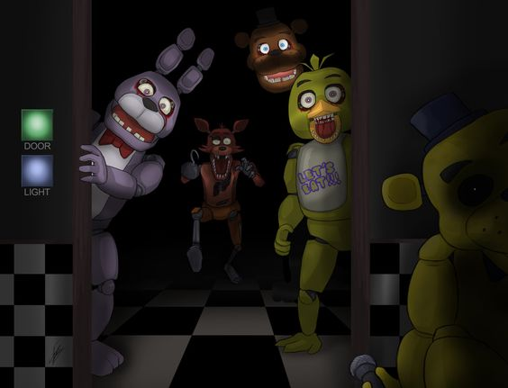 Purple guy at freddys five nights quotes - Five Nights At Freddy S Bonnie Foxy Freddy Chica And