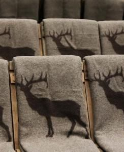 Pendleton for Ace Hotel blankets (these were used as seating at a fashion show).