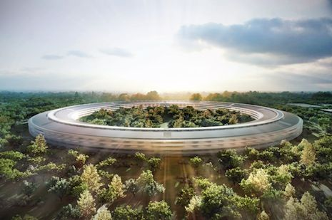 Apple's New Headquarters. Reviewed by Paul Goldberger for New Yorker magazine.