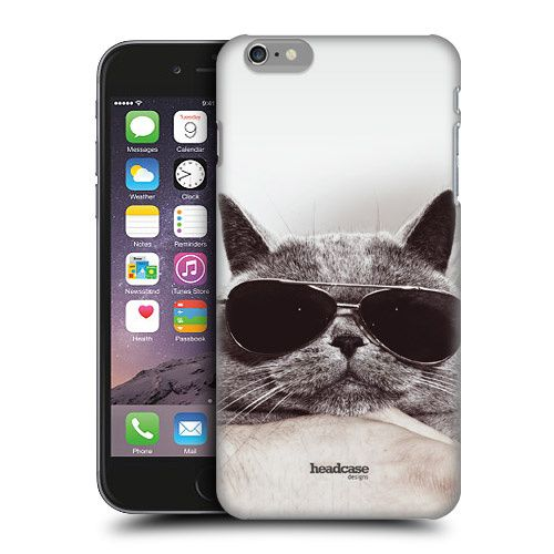 Cool Cat With Sunglasses Case for iPhone 6 6 Plus 5/5s 5c or 4/4s