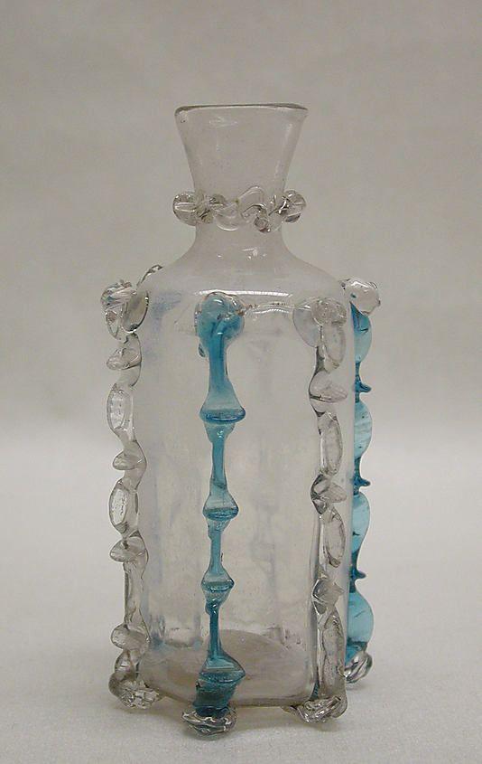 Bottle, late 17th–early 18th century  Italian, Venice (Murano)