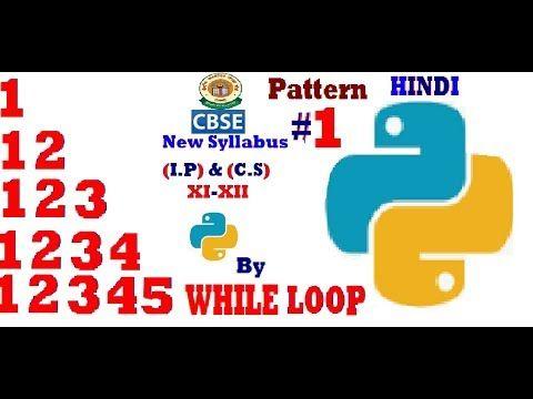 Python Pattern Printing Programs In Hindi Python Programming