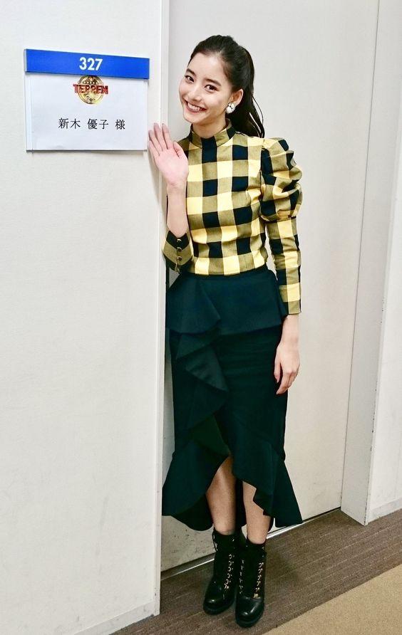 新木優子のチェック
