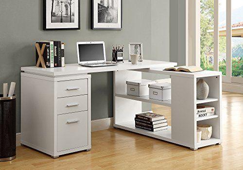 Awesome Top 10 Best Corner Desk With Storage Best Of 2018 Reviews White Corner Desk Corner Desk White L Shaped Desk