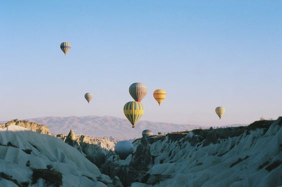 Cappadoccia hot air balloons- it was truly magical