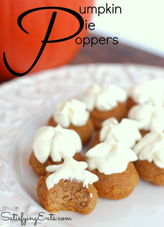 This fall, place these adorable bite-sized pumpkin pie poppers on your dining table and they'll be gone before you know it. --------> http://tipsalud.com