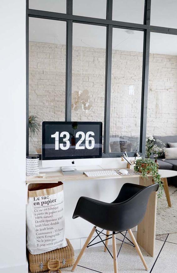 diy ma verri re d 39 int rieur esprit atelier d 39 artiste fait maison design studios et atelier. Black Bedroom Furniture Sets. Home Design Ideas