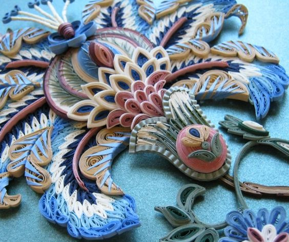 Quilling the art of paper filigree into craftinto - Paper quilling art wallpapers ...