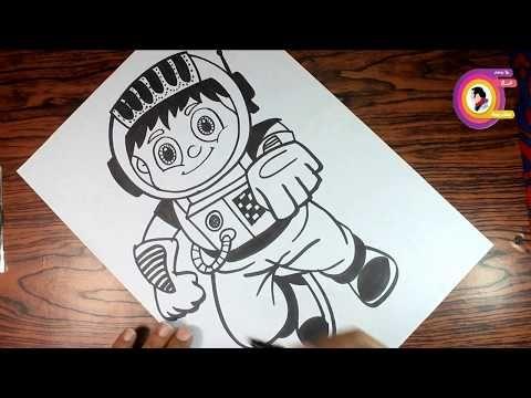 طريقة رسم رجل فضاء 2 تعليم الرسم للمبتدئين Youtube Cards Playing Cards