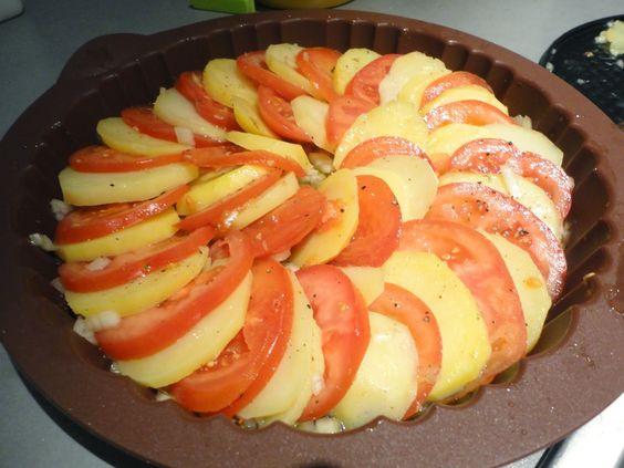 Cooked With Love: Tomaten-taart met spek