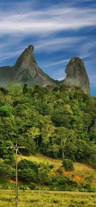 Pedra O Frade e a Freira - Espírito Santo, Brazil: