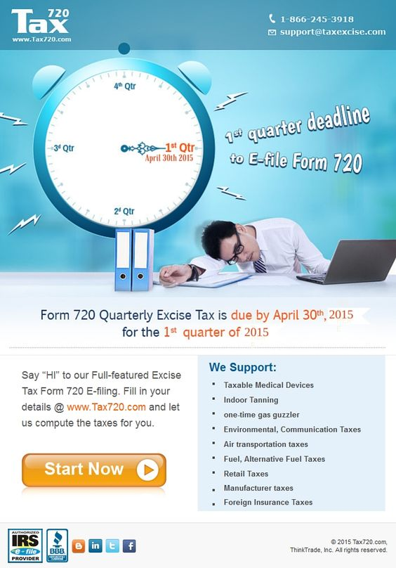 Say u201cHIu201d to our Full-featured Excise Tax Form 720 E-filing Fill - federal tax form