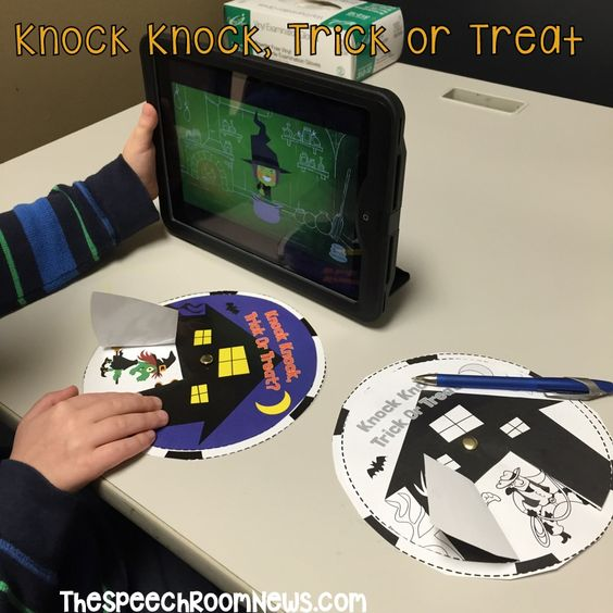 Knock, Knock, Trick Or Treat Music And Activity