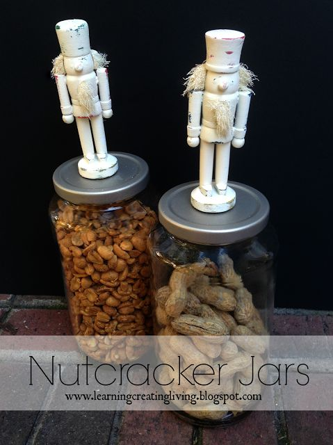 Learning, Creating, Living.: Nutcracker Jars