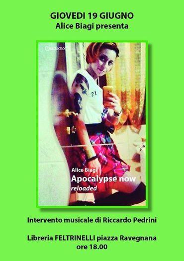 19 giugno h 18 Apocalipse Now Feltrinelli 2 torri