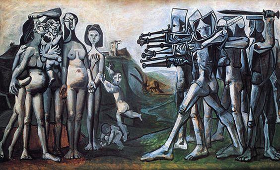 Picasso, Massacre en Corée, 1951