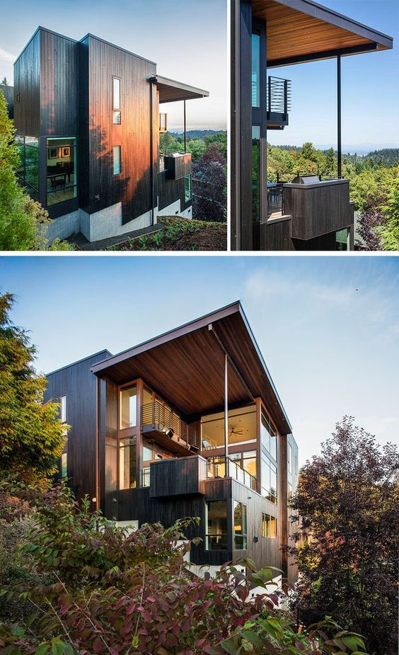 Music Box Residence In Portland Oregon Scott Edwards Architecture House Design Modern House Design Architecture
