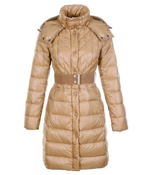 shop moncler - Moncler Cheap Down Coats Women Belt Decoration