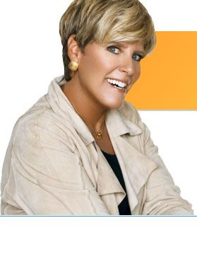 Suze Orman, she rocks!  Just an awesome financial resource and beautiful to boot!