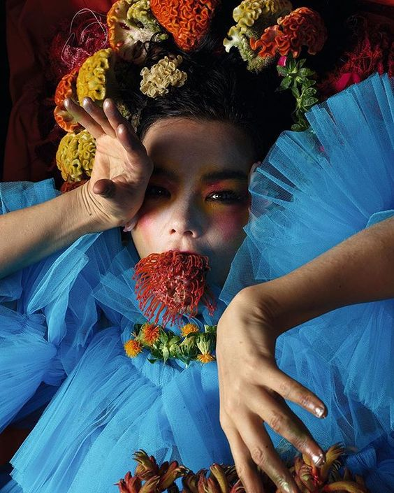 Back with a brutal and breathtaking new album @bjork pierces her