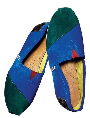 Toms Shoes launches new women's shoe style