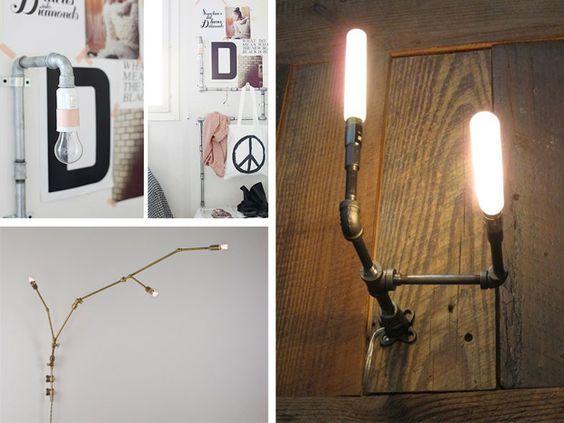 Idee per applique da muro fai da te per la camera da letto - Rubriche - InfoArredo - Arredamento e Design per la tua casa