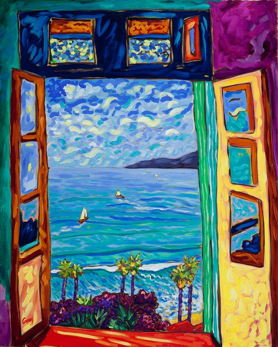 Looking at Henri Matisse | On the Easel ©Cathy Carey